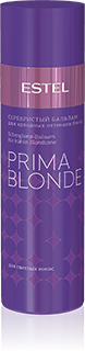Серебристый бальзам для холодных оттенков блонд ESTEL PRIMA BLONDE, 200 мл