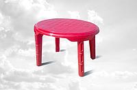 Детский овальный столик