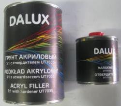 Автомобильный грунт DALUX 5+1 2К акриловый черный 0,8л + отвердитель 0,16л