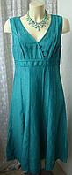 Платье женское летнее лен миди бренд Per Una р.46 5320