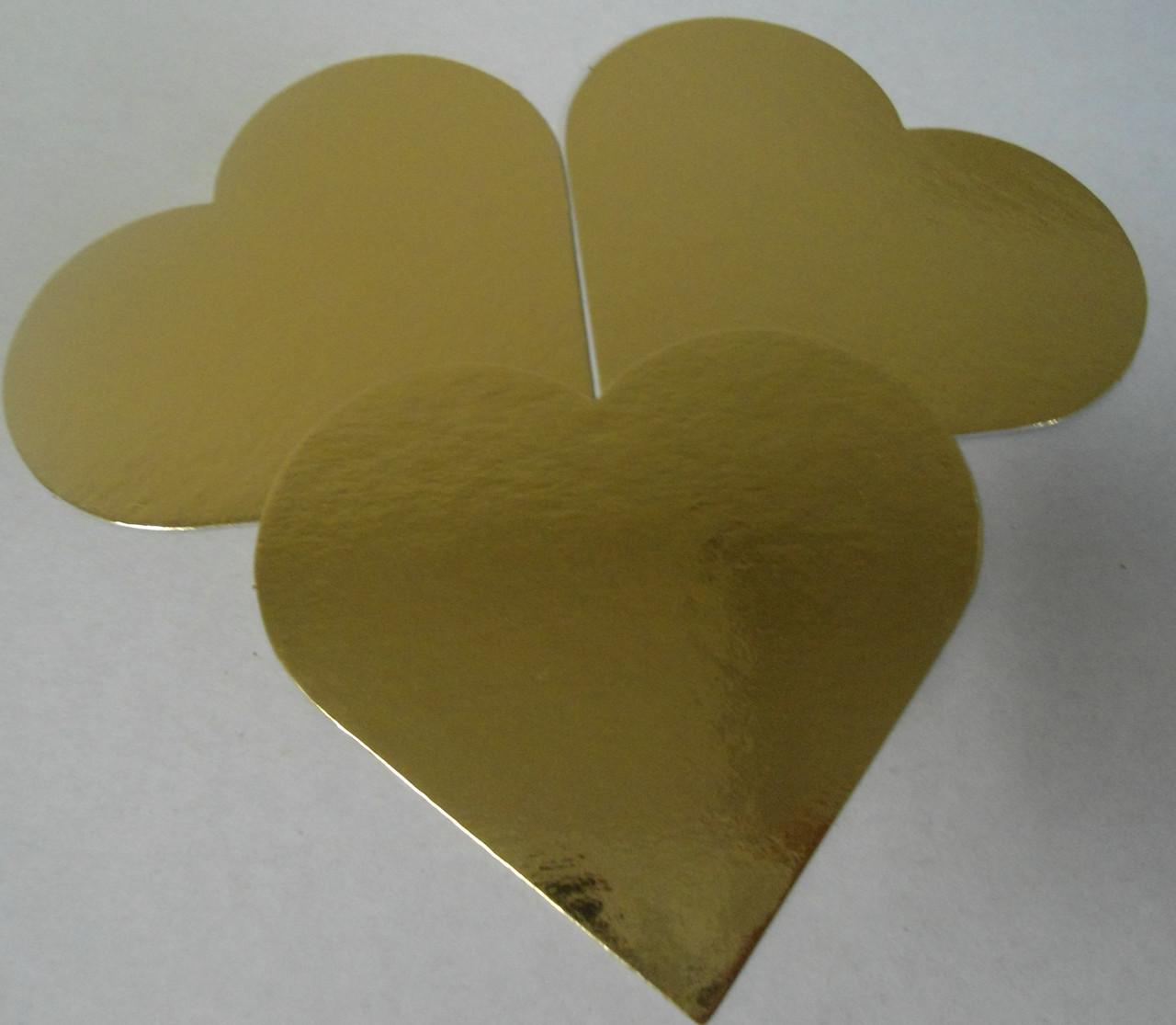 Подложка  под торт Сердце (код 04671)