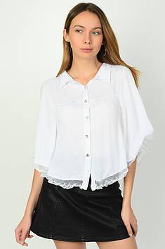 Блуза жіноча біла Уцінка ACG 136026T