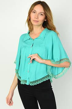 Блуза жіноча м'ятна Уцінка ACG 135599T