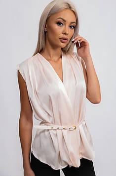 Блуза жіноча світло-рожевий Уцінка TRG 134153T