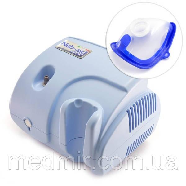 Ингалятор компрессорный Neb-aid F400 (Неб-Эйд) с детской маской в комплекте