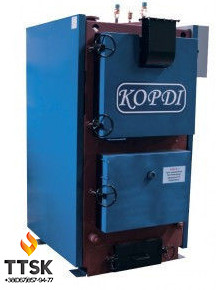 Корди КОТВ 400 (футерованная топка) твердотопливный котел 400 кВт