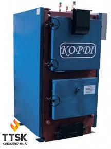 Корди КОТВ 400 (футерованная топка) твердотопливный котел 400 кВт , фото 2