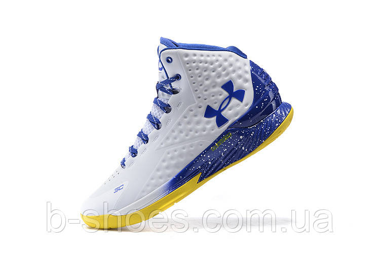 Мужские кроссовки UNDER ARMOUR CURRY (White/Blue)