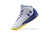 Мужские кроссовки UNDER ARMOUR CURRY (White/Blue), фото 1