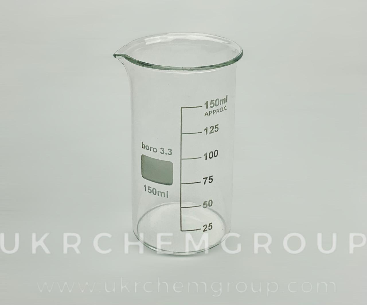 Стакан мерный высокий 150мл, Boro3.3