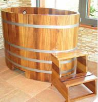 Бочка-Купель для сауны и бани Blumenberg 130 x 79