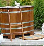 Бочка-Купель для сауны и бани Blumenberg 168 x 106, фото 7