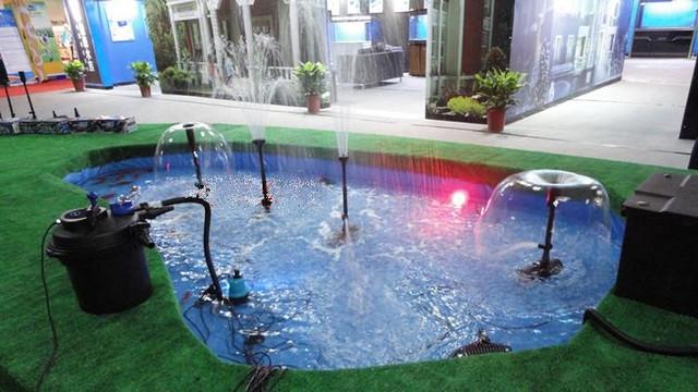 Насосы для декоративного пруда и фонтана