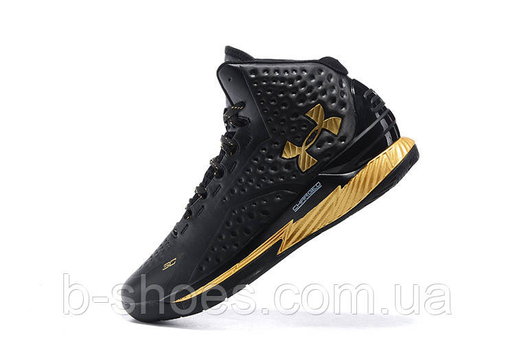 Мужские кроссовки UNDER ARMOUR CURRY (Black/Gold)