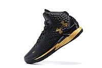 Мужские кроссовки UNDER ARMOUR CURRY (Black/Gold), фото 1
