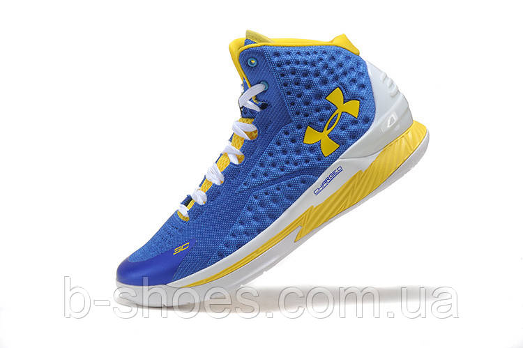 Мужские кроссовки UNDER ARMOUR CURRY (Blue/Yellow)