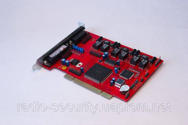 Многоканальный аудиорегистратор, запись с телефонных линий AMUR PCI-A-18