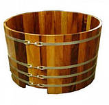 Бочка-Купель для сауны и бани Blumenberg диаметр 112 см, фото 8