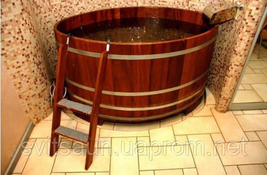 Бочка-Купель для сауны и бани Blumenberg диаметр 112 см