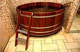 Бочка-Купель для сауны и бани Blumenberg диаметр 153 см, фото 2