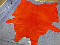 Шкура коровы красного цвета однотонная в Харькове