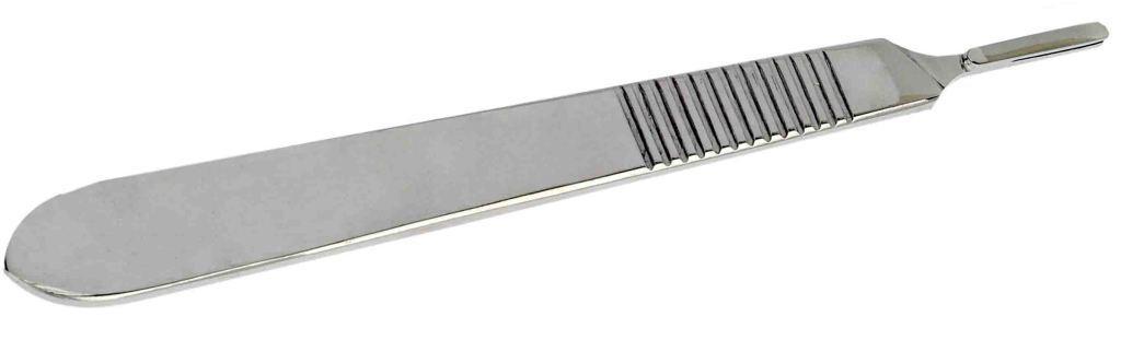 Ручка для скальпеля, мала 12см