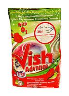 Концентрированный стиральный порошок Vish Advance - 1,25 кг.