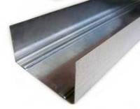 Профиль для гипсокартона направляющий UW 50/40 (3м, 4м) сталь 0,4мм