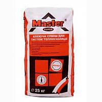 Клей эластичный для армирования и приклейки MASTER SUPER, 25 кг