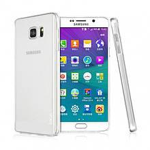 Чехол накладка пластик IMAK для Samsung Galaxy Note 5 N920 прозрачный
