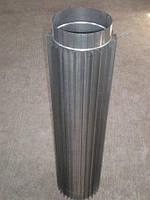 Труба-радіатор ф 180 нержавіюча сталь 0,8 мм 1 м