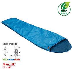 Спальный мешок High Peak Summerwood 10/+10°C Blue/Dark Blue Left (20100)