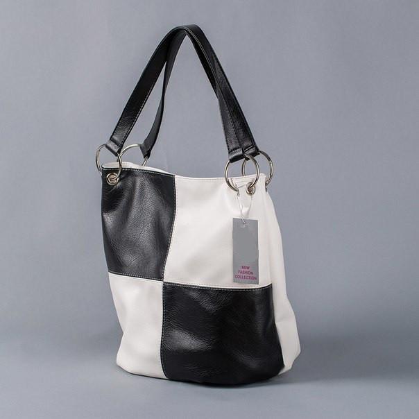 c5d135d8177f Качественная черно-белая сумка Украина - Интернет-магазин