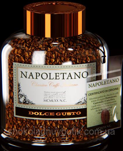 """Кофе растворимый Napoletano """"Dolche"""" Gusto 100ги"""