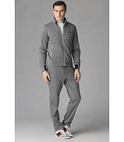 Мужской спортивный костюм Бриони серый, фото 1