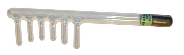 Гребешковый электрод для аппарата корона