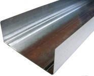 Профиль для гипсокартона направляющий UW 100/40 (3м, 4м) сталь 0,4мм