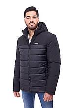 Чоловіча молодіжна зимова куртка 065, чорна 50