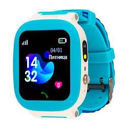 Дитячі розумні годинник AmiGo GO004 Splashproof Camera LED Blue