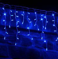 """Вулична гірлянда бахрома 120 Led 5 метрів """"синя"""", фото 1"""