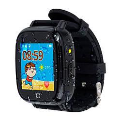 Детские умные часы AmiGo GO001 iP67 Black