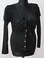 Женские кофты черного цвета