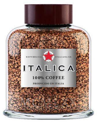 Кофе растворимый  ITALICA 100г