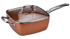 Сковорода универсальная Copper cook deep square pan ... Подробнее на epicentrk.ua https://epicentrk.ua/shop/mp