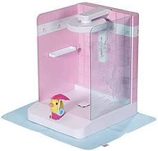 Автоматична душова кабінка ляльки Baby Born Бебі Борн Купаемся з уточкой Zapf 830604