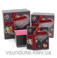 Коробка подарочная квадратная средняя