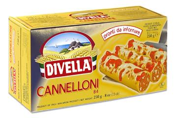 Макарони для фарширування каннеллоні Divella «Cannelloni» 250 гр.
