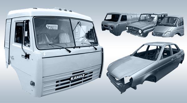 Кабина, кузов КАМАЗ-4310