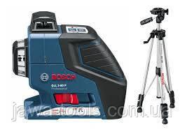 Лазерний нівелір GLL 2-80 P + BS 150 + вкладка под L-Boxx