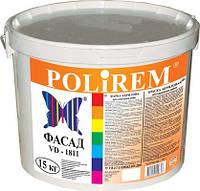 Краска силиконовая фасад Polirem VD-1811